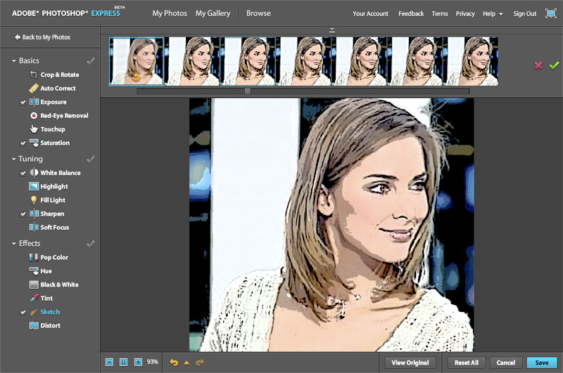 Photoshop Express, una versión gratuita y reducida de Photoshop por ...