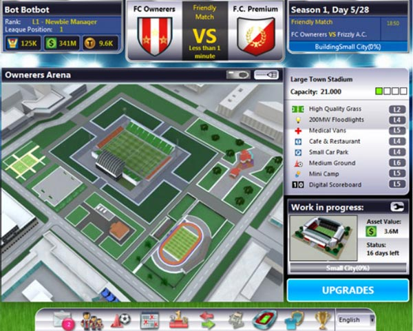 :: Top Eleven - Football Manager (Facebook)