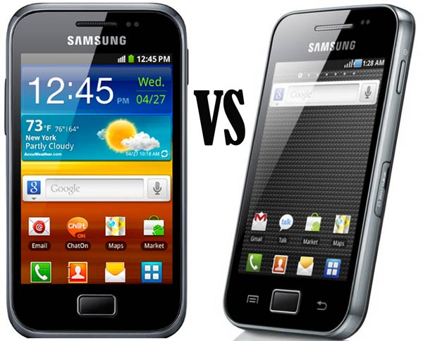 samsung galaxy ace plus vs