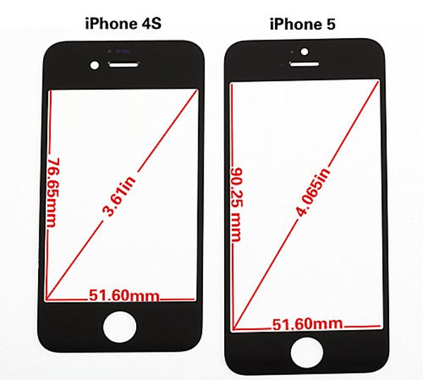 how long is the iphone 5 tama 241 o y medidas de la pantalla iphone 5 en un v 237 deo 18475