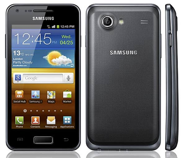 los samsung galaxy ace 2 y samsung galaxy s advance