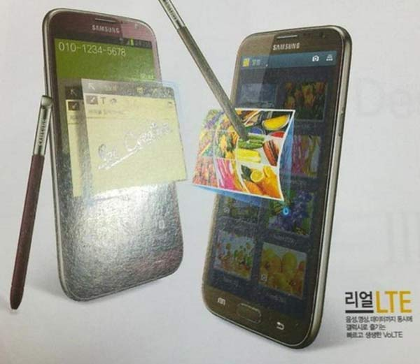 Samsung Galaxy Note 2 colores