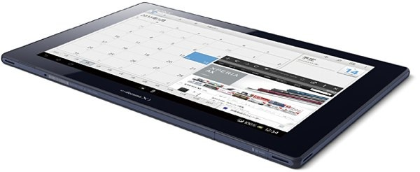 sony xperia tablet z calendario