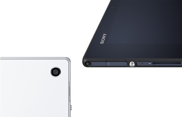 sony xperia tablet z lateral trasera