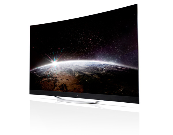 lg oled tv curvos ec9800 de 55 65 y 77 pulgadas. Black Bedroom Furniture Sets. Home Design Ideas