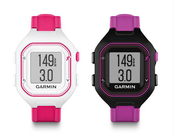 how to use a garmin forerunner 25