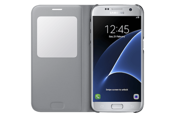 carcasa samsung clear view cover para galaxy a5 (2016)