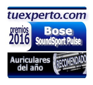 Bose Soundsport Pulse Sello Premios tuexperto 2016
