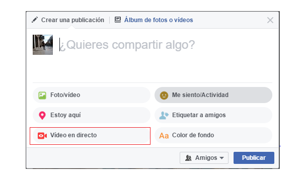 facebook video pc