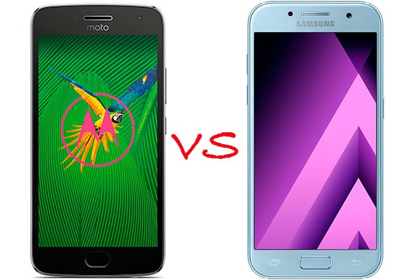 Comparativa Moto G5 Plus vs Samsung Galaxy A3 2017