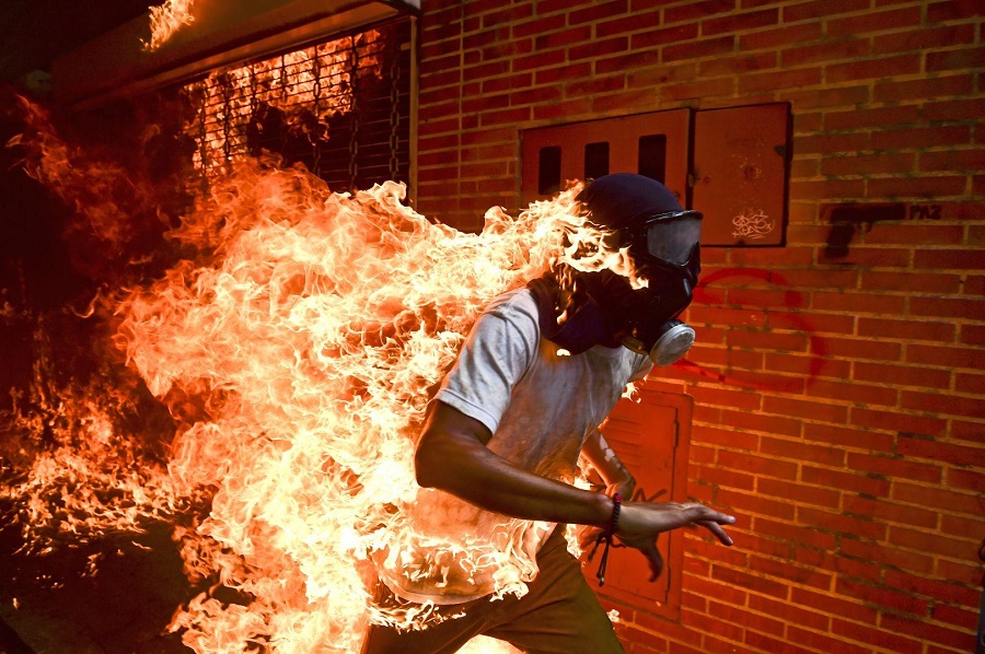 Estas son las fotos ganadoras del World Press Photo 2018