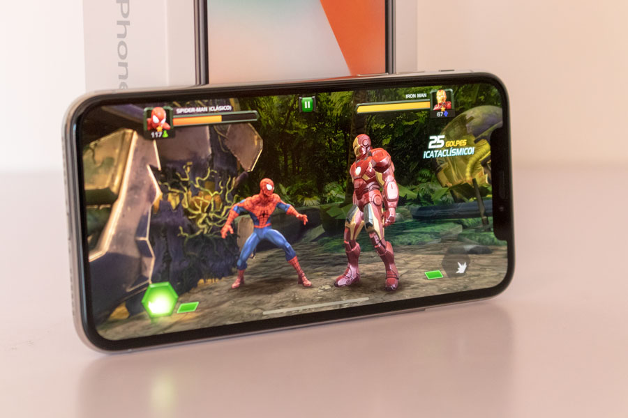 comparativa iPhone Xs vs iPhone X juegos iPhone X