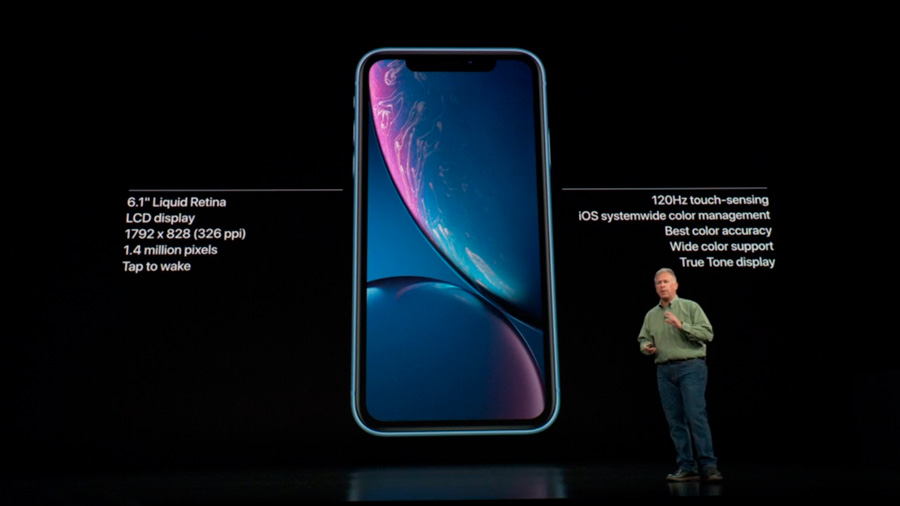 iphone xr pantalla