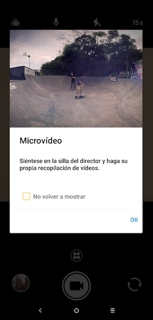 alcatel 5v microvídeo