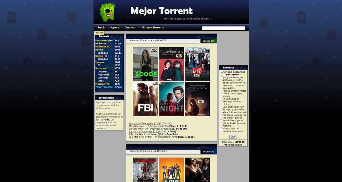 MejorTorrent no funciona, 9 alternativas para descargar Torrent en 2019
