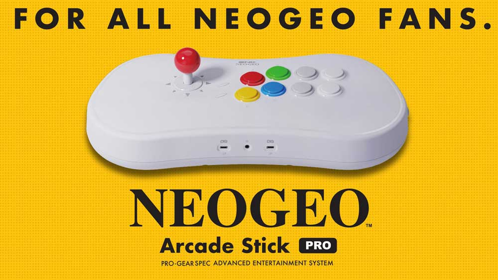 Neo Geo Arcade Stick Pro, una consola para transformar tu TV en una recreativa