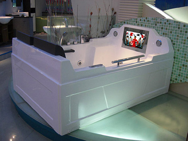 Baño Relajante Jacuzzi:Cool Bathrooms with TV